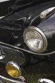 Black Classic Car — Stock Photo