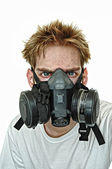 Hardcore Gasmask — Stock Photo