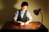 Escritor — Foto de Stock