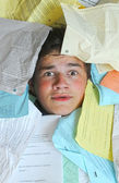 Too Many Homework Assignments — Stock Photo
