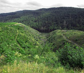 Valley panorama — Stock Photo