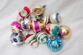 杭の古いクリスマス ツリーの装飾 — ストック写真