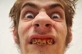 Horrível homem monstruoso — Foto Stock