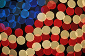 Abstract Bokeh American Flag Background — Stock Photo