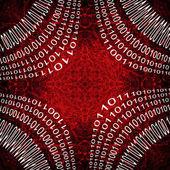 Digital Computer Language Binary background — Stock Photo