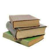 Stos książek starodawny stary antyczny — Zdjęcie stockowe