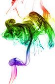 Inverted Rainbow Smoke — Stock Photo