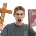 Religious Conservative Fundamentalist Extremist — Stock Photo #4630605