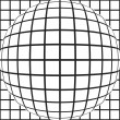 Sphere grid — Stock Photo