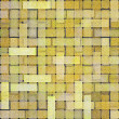 Stock Photo: Yellow square brick tile