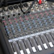Stock Photo: Audio Mixer Hardware