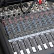 Audio Mixer Hardware — Stock Photo