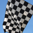 Stock Photo: Racing Flag