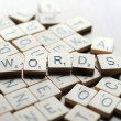 Words — Stock Photo