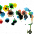Abstract Paint Drips down — Stock Photo