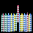 Birthday Candles — Stock Photo #4638261