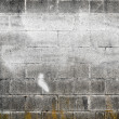 Old cement wall with spraypaint — Stock Photo
