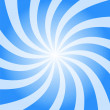 Blue sky Burst Twist — Stock Photo