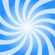 Royalty-Free Stock Photo: Blue sky Burst Twist