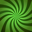 Green Burst Twist — Stock Photo