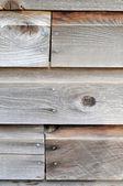 Brown wooden wall closeup — Stock Photo