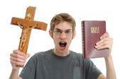 Religious Conservative Fundamentalist Extremist — Stock Photo