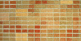 Red and Brown Brick Wall — Stockfoto