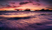 Beautiful Beach Sunset — Stock Photo