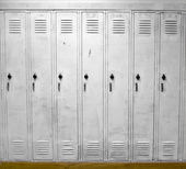 White Lockers — Stock Photo