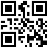QR Bar Code — Stock Photo