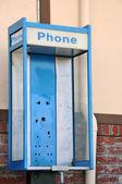 украденные общественный телефон — Стоковое фото
