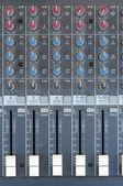 Audio Mixer Hardware — Stock Photo