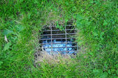 Yard Drain — Stock Photo