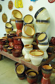 Big Ceramic Pots — Stock Photo