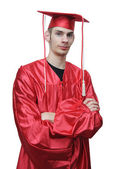 Young School Graduate — Stock Photo
