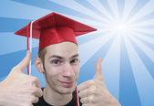 Graduado de secundaria — Foto de Stock