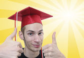College Graduate — Stock Photo