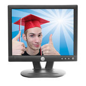 Online Degree — Stock Photo