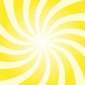 Yellow sun twist burst — Stock Photo