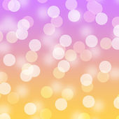 Bright Upbeat Happy Bokeh — Stock Photo