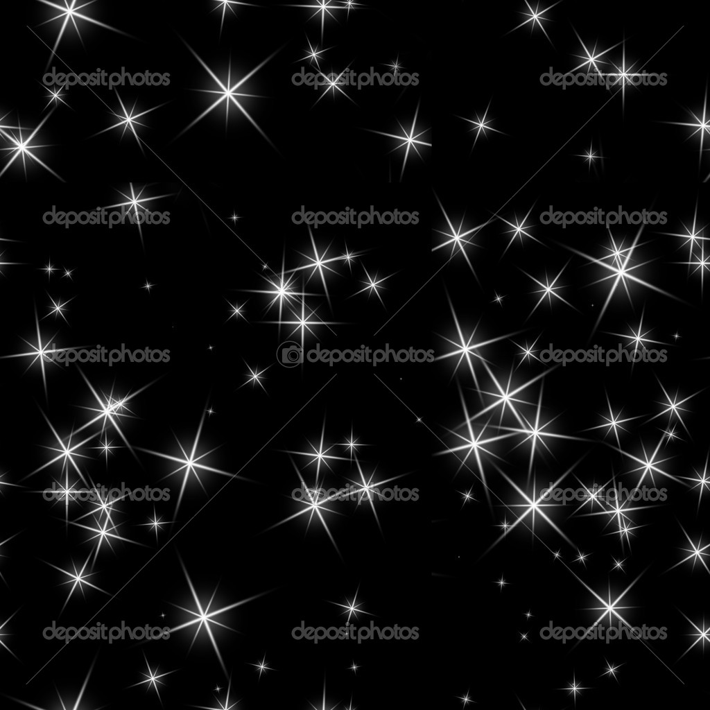 Abstract background of bright stars on a seamless tile — Stock Photo #4639990