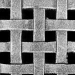 Woven Metal Mesh Grid Pattern — Stock Photo #4647322
