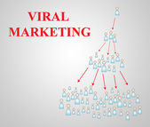 Virales marketing — Stockfoto