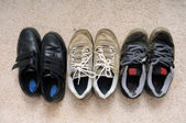 Shoes collection — Stock Photo