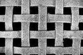 Modèle de grille de maille métallique tissée — Photo