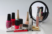 Beauty accessories — Stock Photo