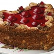 Royalty-Free Stock Photo: Cherry pie
