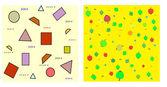 Mathematics. Seamless vector — Stock Vector