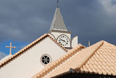 "Kirche in ""Jardim do Mar"" — Stock Photo"