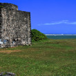 Ruine am Strand - Mauritius — Stock Photo